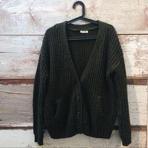 knit cardigan // Garage